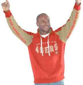 """San Francisco 49ers NFL Men's G-III """"Hands High"""" Hooded Fleece Sweatshirt"""