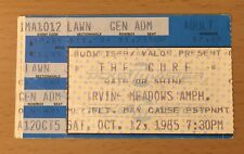 1985 THE CURE LOS ANGELES IRVINE CONCERT TICKET STUB HEAD TOUR BOYS DON'T CRY 1