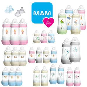 MAM Easy Start Self-Sterilising Anti-Colic Newborn & Baby Feeding Milk Bottle