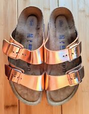 Birkenstock Arizona size 41 womens rose gold sandals