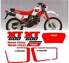 YAMAHA XT600 XT 600 stickers decals high quality