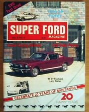 SUPER FORD 1984 APR - MUSTANG ANNIVERSARY ISSUE, SVO