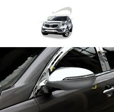 SAFE Chrome Mirror Back Cover for Signal Lamp 2Pcs For KIA Sportage R 2011 2015