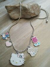 Authentic sanrio hello kitty squirrel heart bird necklace