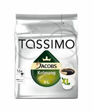 3 Pack Tassimo Jacobs Krönung XL Pods Capsules 48 T-Discs 48 Servings UK