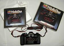 vintage nishika n8000 GIF camera with original packaging working