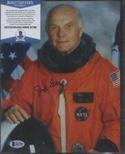 John Glenn Signed 8x10 Photo Auto Autograph Beckett Bas Coa