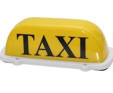 Magnet Taxischild Dachschild TAXI Gelb Lampe Licht Beleuchtung 12V