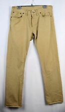 RRL Ralph Lauren Chino Slim Fit Selvedge Khaki Tan Japanese Jeans 34 X 34