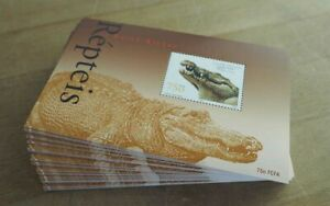 2002 Guinea-Bissau; 200 Blocks Reptilien, postfrisch/MNH, Bl. 381, ME 1000,-