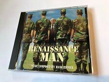 RENAISSANCE MAN (Hans Zimmer) OOP 1994 Varese Score Soundtrack OST CD NM