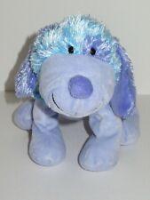 Ganz Webkinz Blueberry Cheeky Dog HM443 Plush Stuffed Animal No Code Blue Purple