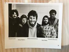 Bruce Springsteen band original vintage press headshot photo