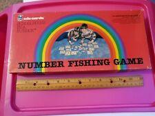 1984 Educards Number Fishing Game