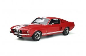 1967 Shelby GT500 Mustang 1:12 Ottomobile Red w/White Stripes LE MIB IN STOCK!