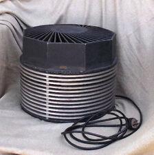 Post World War II Era Mid Century Modern Floor Fan Vintage Circular Motionair