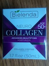 Bielenda Neuro Collagen Day/ Night Face Moisturizer 1.7 Fl Oz - Age 50+