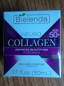 Bielenda Neuro Collagen Day/ Night Face Moisturizer 1.7 Fl Oz - Age 50+