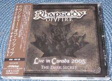 RHAPSODY OF FIRE - LIVE IN CANADA 2005 JAPAN OBI