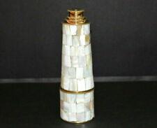 "Brass nautical 18"" telescope maritime mother of pearl handheld  christmas gift"