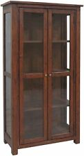 More than 200cm Height Pine Traditional Display Cabinets