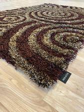 Hochflor Teppich Miralcle 140 x 200 cm handgeknüpft Abverkauf Neuware
