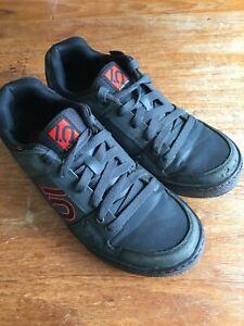 Five Ten Freerider Elements Flat Sole MTB Shoes UK 9.5 EUR 44 Grey/Red