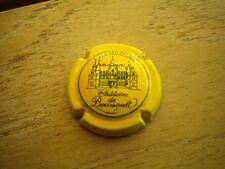 capsule de champagne chateau de boursault  n°15  (jaune et noir) cote 11€
