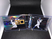 2020 TOPPS CHROME UPDATE SERIES KYLE LEWIS LOT OF Two (2) RC & Decade's NEXT