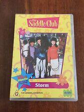 THE SADDLE CLUB STORM DVD R4 AUS SELLER AUS RELEASE