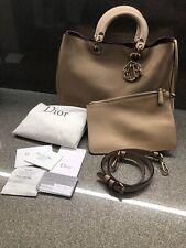 Genuine Christian Dior Diorissimo Nude Beige Taurillon Leather & Purse RRP £2750