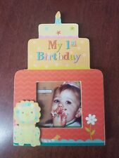 Ganz Babys First Birthday Photo Frame - Brand New