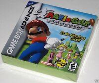Mario Golf: Advance Tour (Game Boy Advance) .. SeaLED!! h-seam!