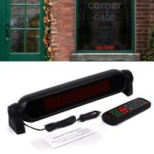 Red Color Programmable LED Car Motor Moving Scrolling Message Display Sign Board