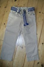 Tommy Hilfiger-beige trousers+belt.4T.Cotton.Worn once.