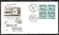 US SC # 1054a Palace Of Governors FDC. Artcraft Cachet.
