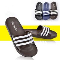 Summer Men's Sports Slide Beach Flip Flops Shower Shoes Sandals Home Slippers