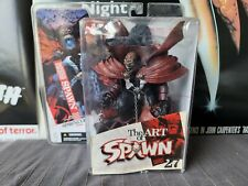 Spawn McFarlane Toys The Art Of Spawn series 27 Figure Issue 85 Cover Art 2005