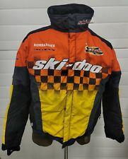 New ListingVtg 90s Ski-Doo X Team Race Snowmobile Jacket sz L Rotax Mxz Mach Z era Tin sign