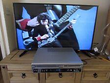 BUSH DVRHS02 VHS VCR/DVD RECORDER COMBI, COPY VHS to DVD + REMOTE