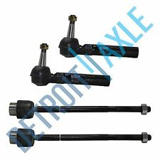 4pc New Front Inner & Outer Tie Rod Ends for 1997 - 2004 2005 Chevrolet Pontiac