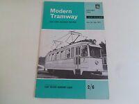 Modern Tramway+Light Railway Review January 1963 + Illustrated Vintage Magazine