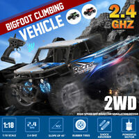1 : 18 Scale Dual Motor RC Car 2.4Ghz 2WD High Speed Off-road  Monster Truck