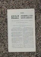 THE GREAT CONTRAST Mormon Book of Joseph F. Smith