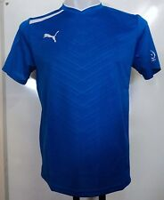 PUMA BLUE S/S SMU RUGBY WORKOUT JERSEY SIZE MEN'S LARGE BRAND NEW WITH TAGS