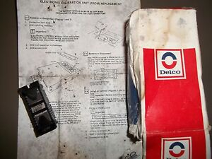 -1985 Buick Olds ACDelco 0211D80 -GM 3.670 16154704 Electronic Control Unit Chip