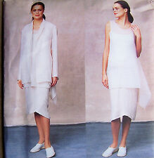 OOP misses 8 10 12 designer pattern Jacket wrap-tunic camisole wrap-look skirt