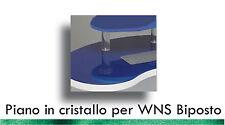Tavolo Piano di Cristallo per Postazione da Lavoro WNS Biposto Unghie by KyLua