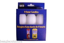 NEW UCO 9-Hour Candles for UCO Original Candle Lantern and Candlelier 3-Pack