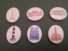 Série De Feves en porcelaine Monument Français